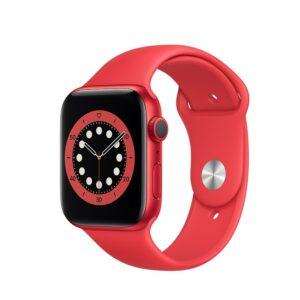 WATCH SERIE 6 GPS 40MM ALLUMINIO (RED) - CINTURINO SPORT (RED)