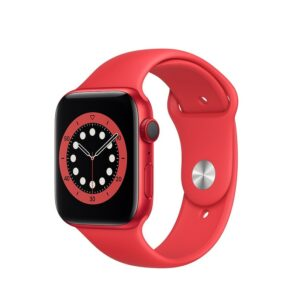 WATCH SERIE 6 CELL 40MM ALLUMINIO (RED) - CINTURINO SPORT (RED)