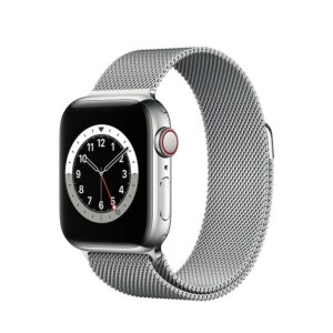 WATCH SERIE 6 CELL 44MM ACCIAIO - LOOP MAGLIA MILANESE