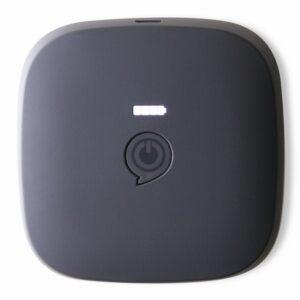 BATTERIA ESTERNA USB CON RICARICA WIRELESS QI 7800 MAH