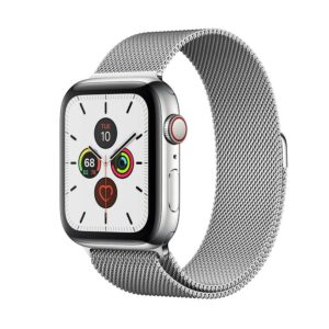 WATCH SERIE 5 CELL 44MM ACCIAIO - LOOP MAGLIA MILANESE