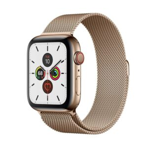 WATCH SERIE 5 CELL 44MM ACCIAIO ORO - LOOP MAGLIA MILANESE ORO