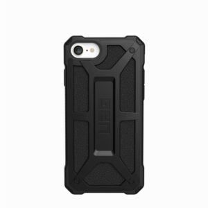 CUSTODIA ANTIURTO MONARCH IPHONE SE 2020 - COLORE NERO/CARBONIO