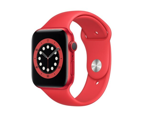 WATCH SERIE 6 GPS 44MM ALLUMINIO (RED) - CINTURINO SPORT (RED)