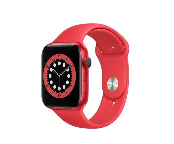 WATCH SERIE 6 CELL 40MM ALLUMINIO (RED) - CINTURINO SPORT (RED)