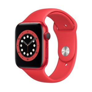 WATCH SERIE 6 CELL 44MM ALLUMINIO (RED) - CINTURINO SPORT (RED)