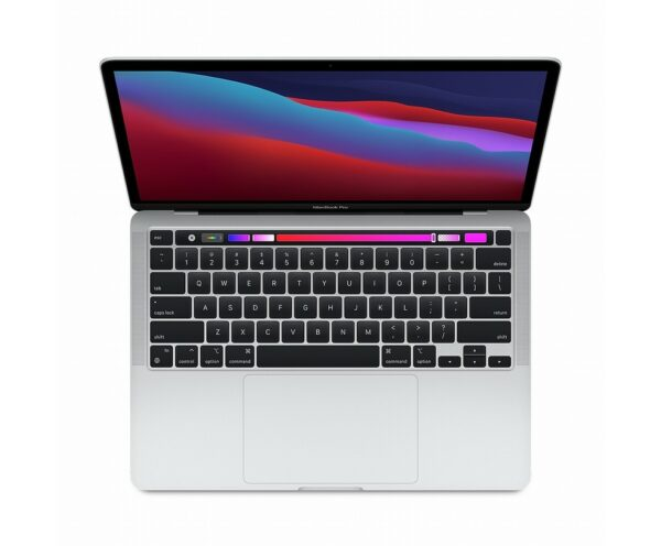 "MACBOOK PRO 13"" TOUCH BAR M1 CORE 8 CPU CORE 8 GPU 256GB - SILVER"
