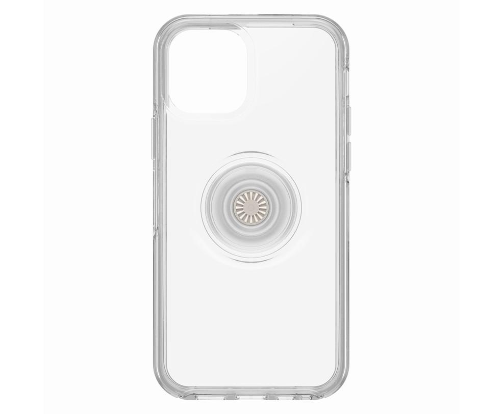 OTTERBOX SYMMETRY + POPSOCKETS - CUSTODIA IPHONE 12/12 PRO CLEAR