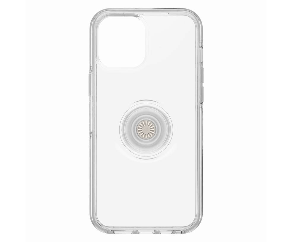 OTTERBOX SYMMETRY + POPSOCKETS - CUSTODIA PER IPHONE 12 PRO MAX CLEAR