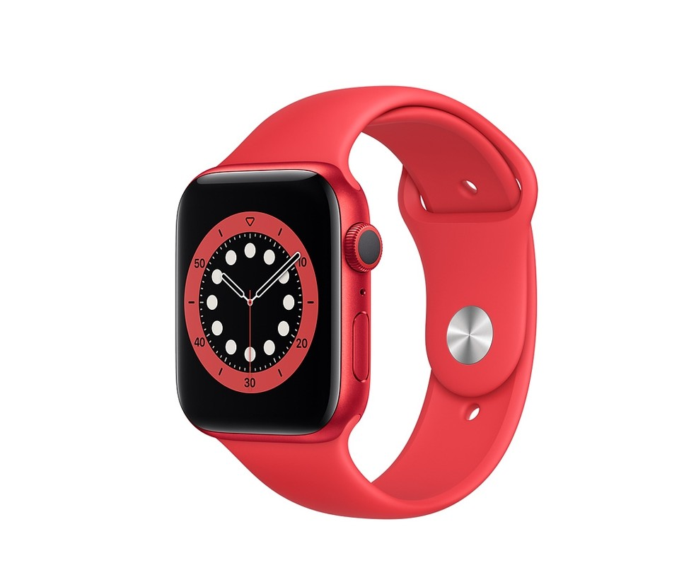 WATCH SERIE 6 GPS 40MM ALLUMINIO (RED) - CINTURINO SPORT (RED)