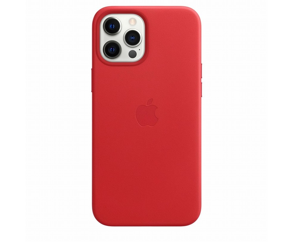 CUSTODIA APPLE MAGSAFE IN PELLE PER IPHONE 12 PRO MAX PRODUCT (RED)