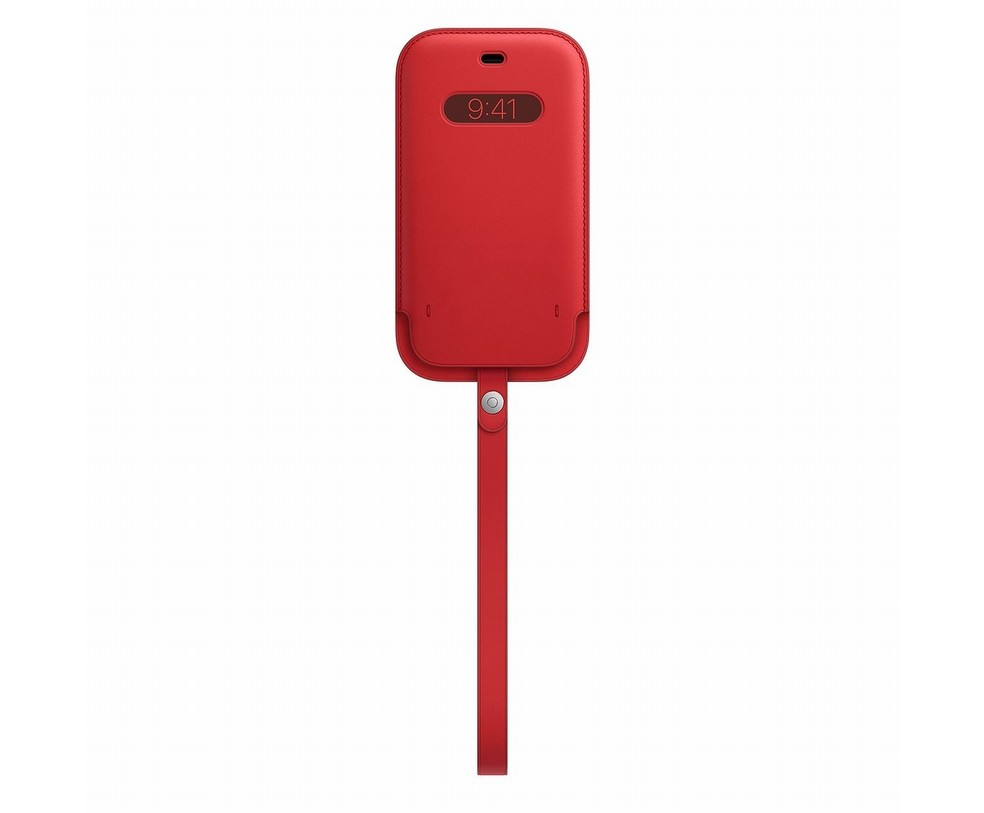 CUSTODIA APPLE TASCA MAGSAFE IN PELLE IPHONE 12/12 PRO - PRODUCT(RED)