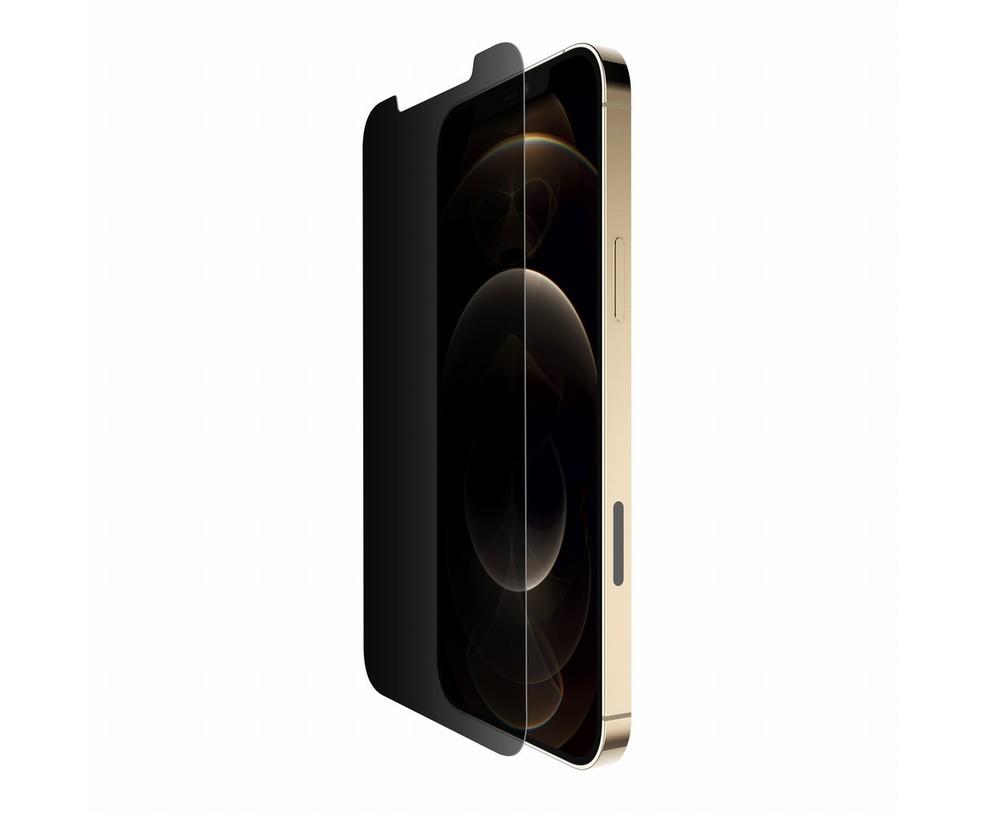 VETRO ULTRAGLASS PRIVACY ANTIMICROBICO PER IPHONE 12 PRO MAX
